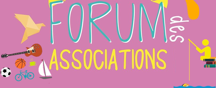 Forum des associations Samedi 8 septembre de 10 h a 18 h